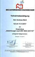 Dachdeckerlehrgang Abdichtung DIN 1831 2017.jpg