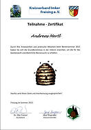 Imker - Bienen - Zertifikat , Kreisverba