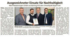 Umweltpakt Bayern Dachdecker