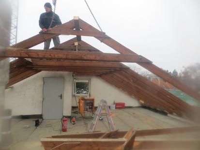 Abriss Dachstuhl
