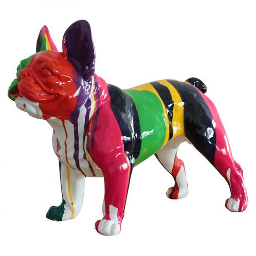 Boston Terrier Colorido L