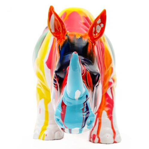 Rinoceronte multicolor