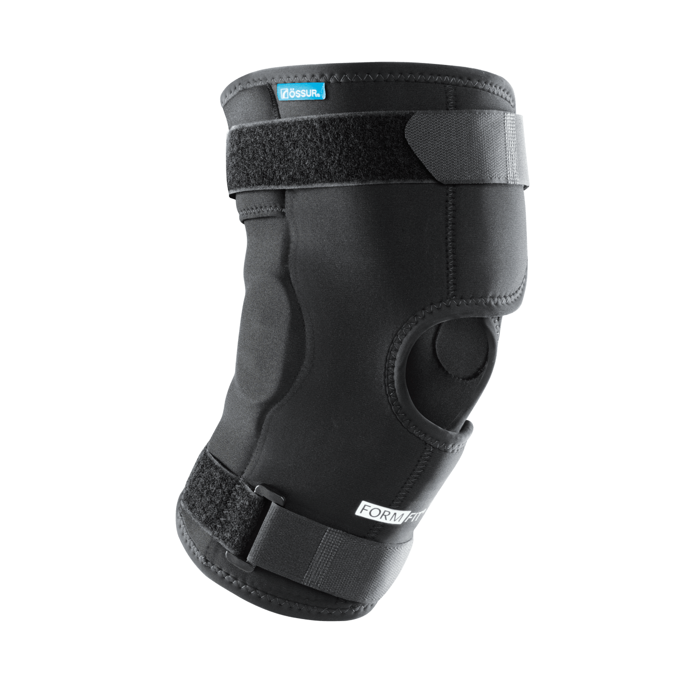 Ossur Neoprene Wraparound Hinged Knee Support.