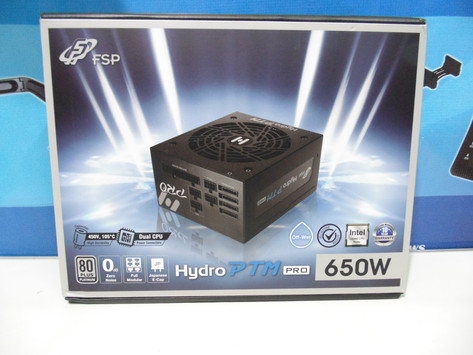Review FSP Hydro PTM Pro 650W