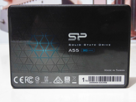 Review SSD Silicon Power A55 1TB