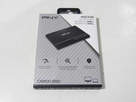 Review SSD PNY CS900 480GB