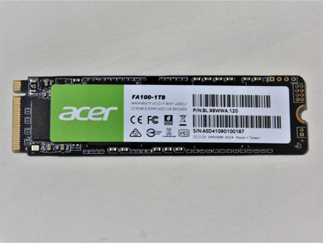 Review Acer FA100 1TB