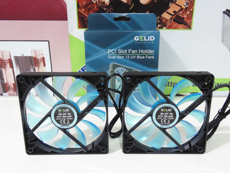 Review Gelid PCI Fans Holder