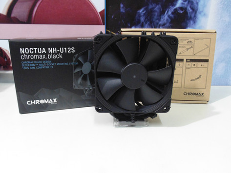 Review Noctua NH-U12S Chromax.Black
