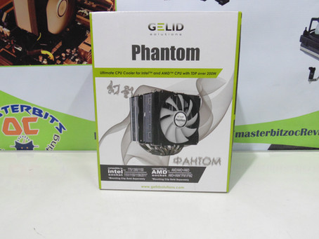 Review Cooler Gelid Phantom