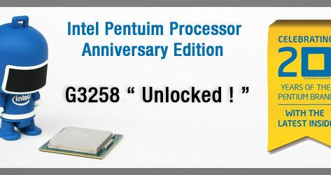 Review Pentium G3258 20 Aniversario
