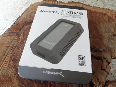 Review Sabrent Rocket Nano Rugged 2TB Portable