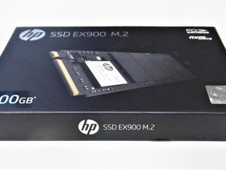 Review HP EX900 SSD M.2 500GB