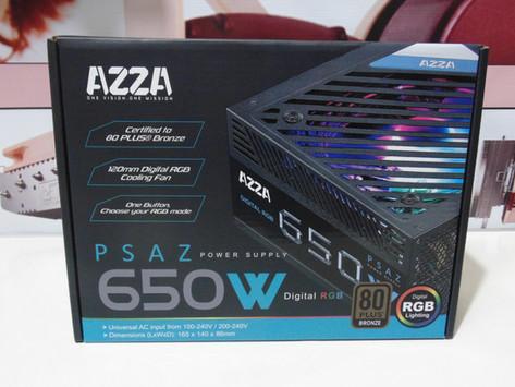 Review AzzA PSAZ 650W RGB