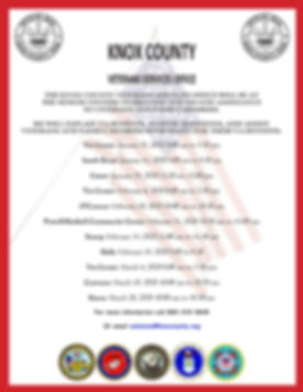 VSO Senior Center Flyer January to March