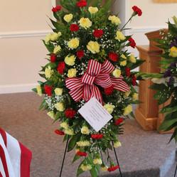 Wreath from Lt. Alexander Bonnyman MCL Det 924