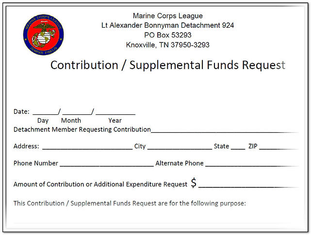 Det 924 Bylaws Supplental Funds Request.