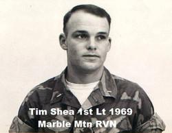 Tim Shea 1st Lt Marble Mtn RVN 1969