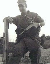 Mike Wise Vietnam 1969 QUANG NAM Province getting ready to go on patrol-001.jpg