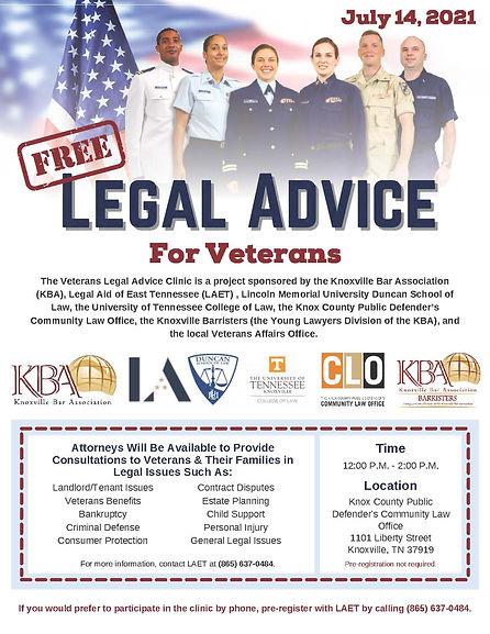 Veterans Legal Advice Clinic July 14.jpg