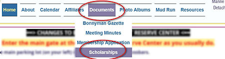 Show Documents Scholarship dropdown.jpg