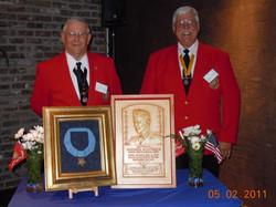 Jim Putnam and Leroy 1st ETMAC MoH Dinner