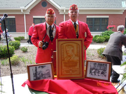 Roy Ashley and Leroy Dedication of Ben Atchley Pavillion