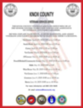 VSO Senior Center Flyer April to June 20