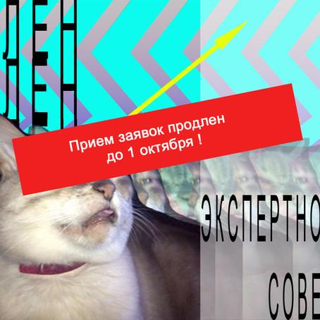"""Прием заявок на """"Члена экспертного совета"""" продлен до 1 октября"""