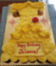 Belle Dress cupcake cake.jpg