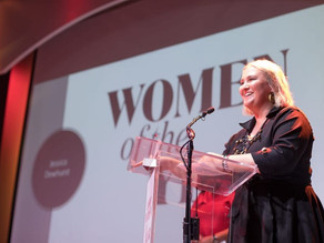 Our Founder & CEO Jessica Dewhurst, awarded Glamour Women of the Year