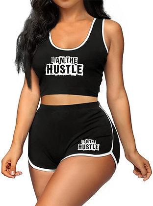 I am The Hustle2 Short Set