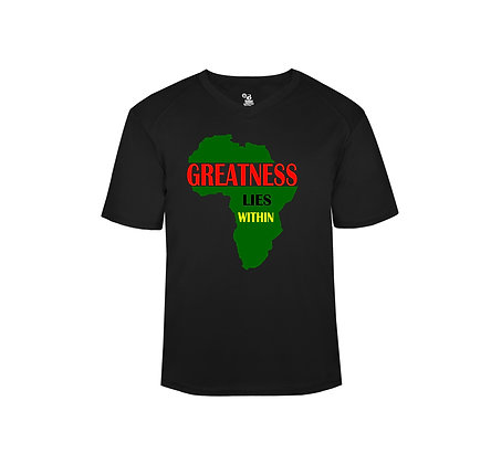 GREATNESS LIES WITHIN Vneck