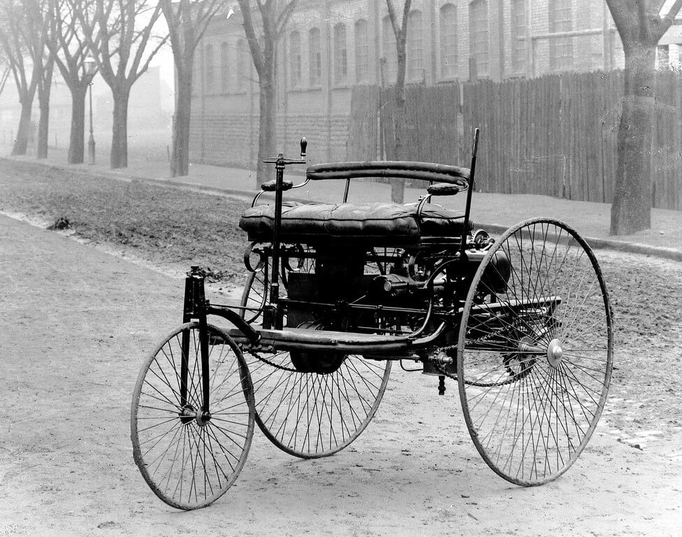 This is the image of the first car ever made