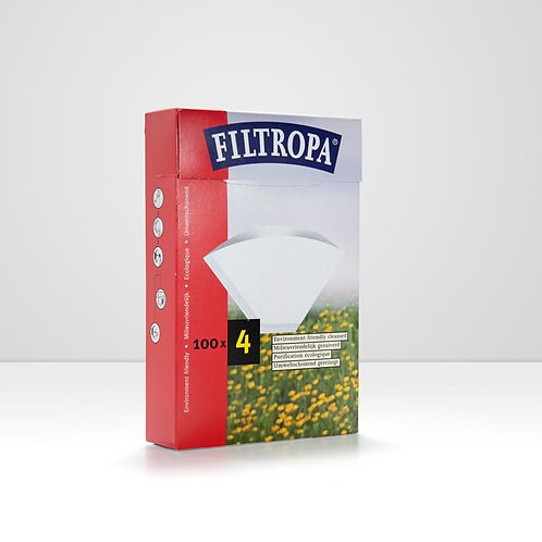 Filtropa Size 4 Filter Papers - Box of 100