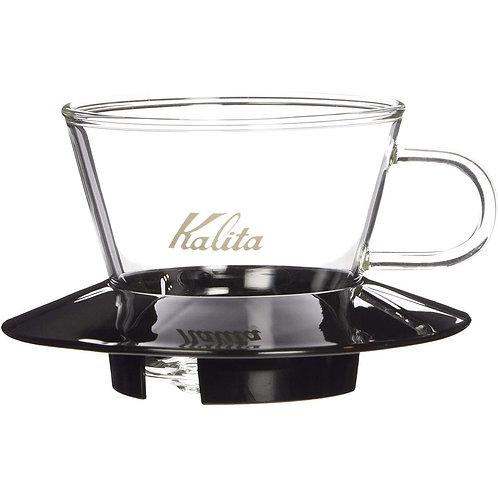 Kalita Glass Wave Dripper 155 (Black)