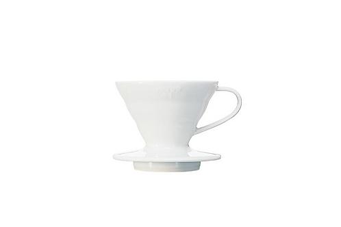 V60 Ceramic Coffee Dripper White 01