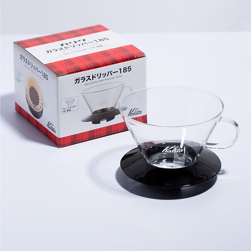 Kalita Glass Wave Dripper 185