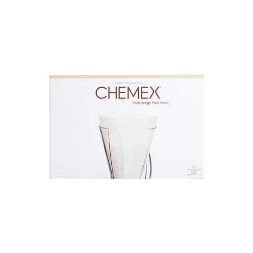 Chemex Bonded Filters Unfolded Half Moon