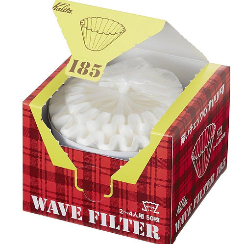Kalita Wave Filter Papers (White) - 185 Boxed (50)