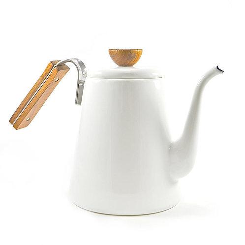 Hario Bona Coffee Enamel Drip Kettle 0.8L