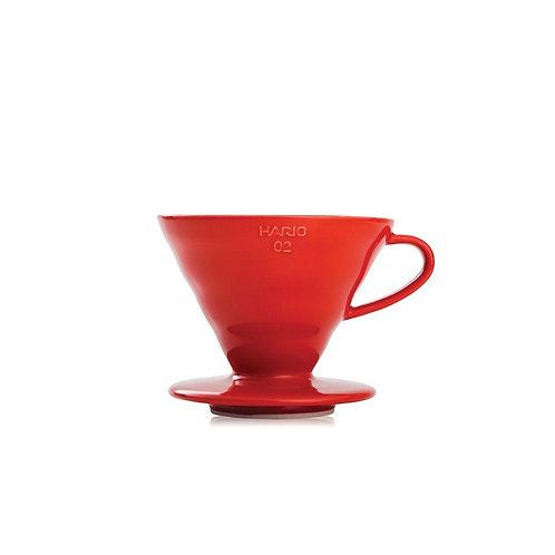 Hario V60 02 Ceramic Red