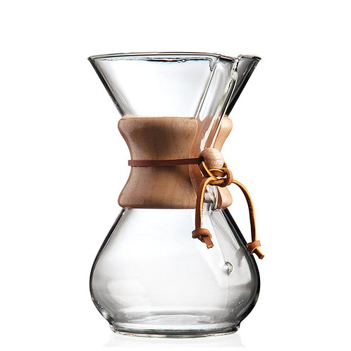 Chemex Classic Six Cup Wood Neck