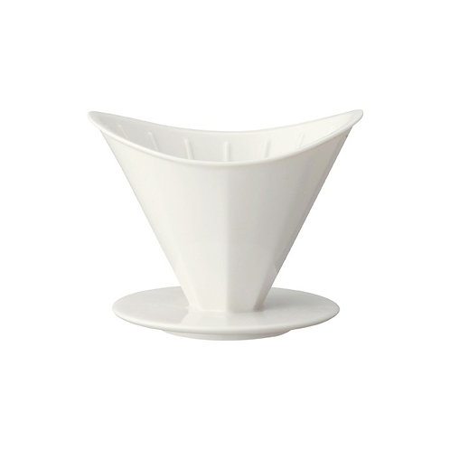 Kinto OCT Brewer 2 Cups (White)