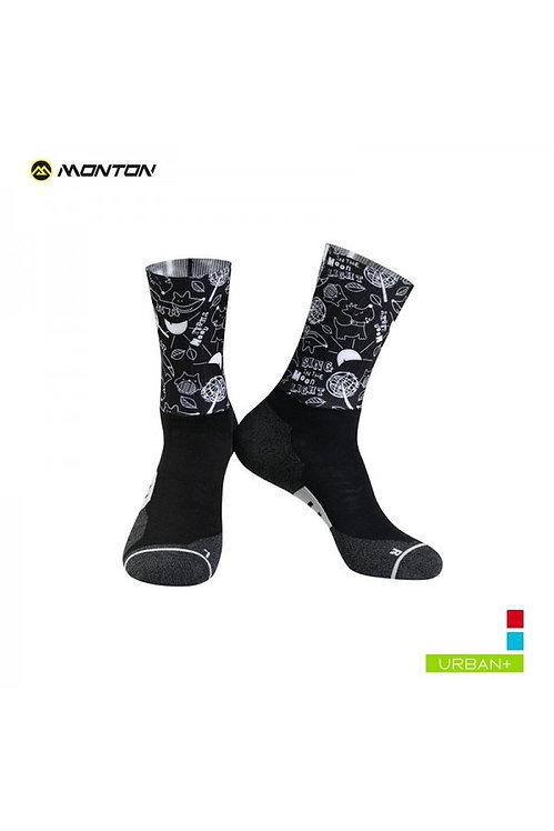 Socks Urban Saimon III Black Low Cut