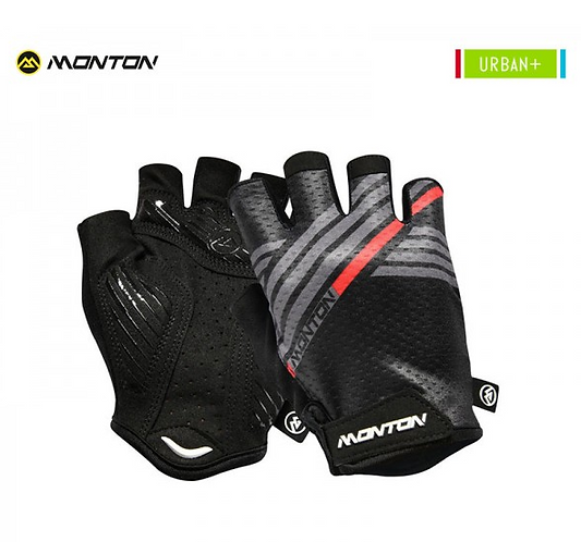 Gloves Urban Graffio Black Gray