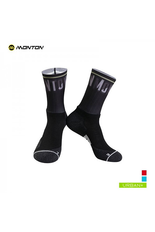 Socks Urban Spirit Black Low Cut