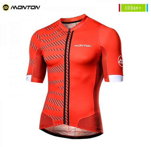Short Sleeve Jersey Urban Selvaggio Red
