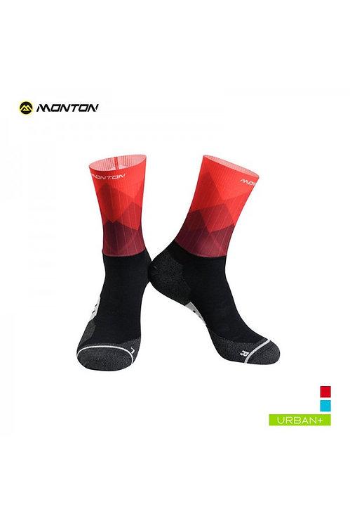 Socks Urban FarHill Red Low Cut