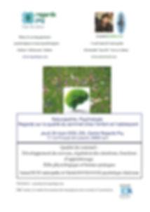 Conférence sur le sommeil de Regards Psy et Santé Régénération, Jeudi 26 mars 2020 à 20h centre Regards Psy 17 rue Philippe de Lassalle, 69004 Lyon.  Conférence animée par Samuel RUFF naturopathe et Christel Bourgogne psychologue clinicienne.  Naturopathie, Psychologie. Regards sur la qualité du sommeil chez l'enfant et l'adolescent: développement du cerveau, régulation des émotions, fonctions d'apprentissage. Rôle physiologique et bonnes pratiques.  Inscription: contactlyon@regardspsy.com 10€ l'entrée, la totalité du montant des inscriptions sera reversée à l'association SESAM autisme.